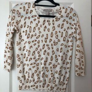 Banana Republic animal print sweater
